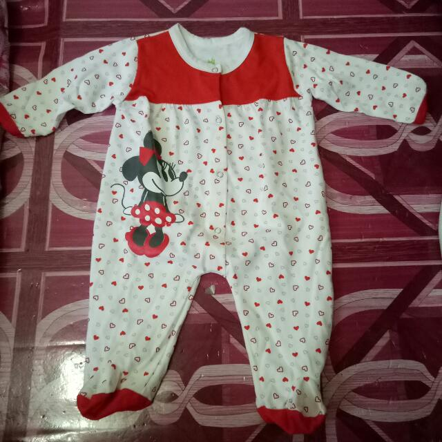 Disney Minnie Mouse Overall