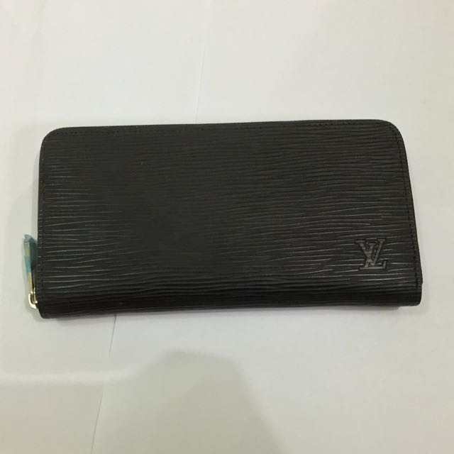 DOMPET LV BLACK WALLET