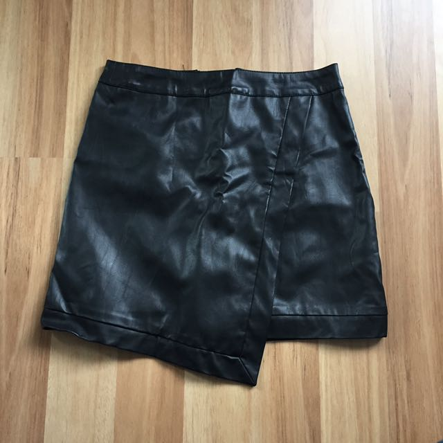 Dotti Leather Skirt