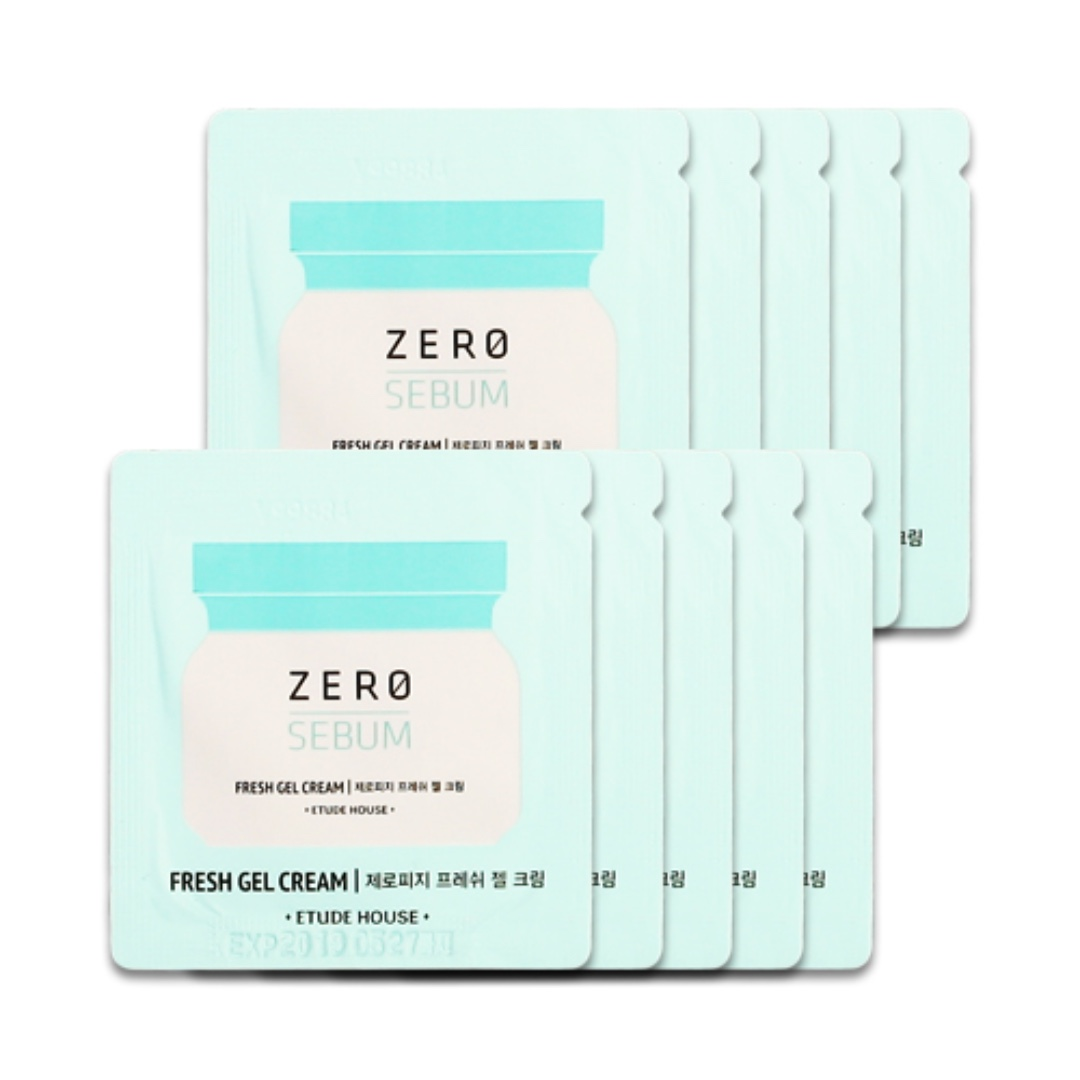 Etude House Zero Sebum Fresh Gel Cream (Sample Sachet)
