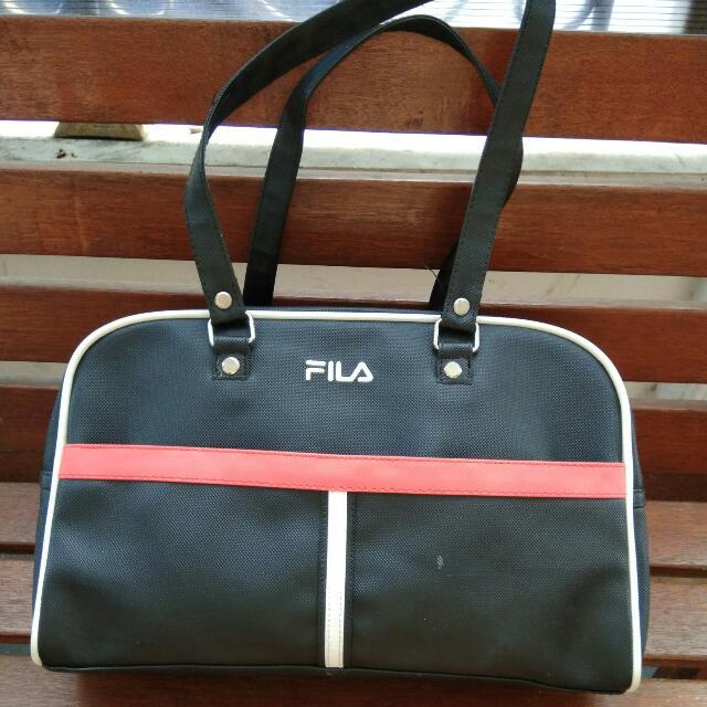 FILA Vintage HipHop Shoulder Bag
