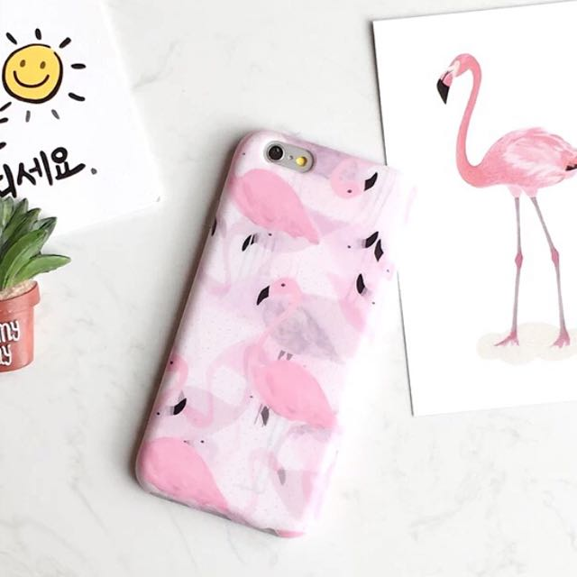 Flamingo Pink Case Iphone 6/6s