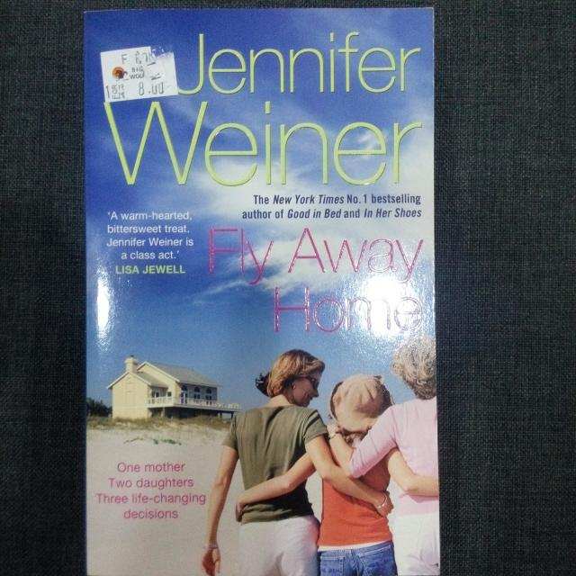 FREE POSTAGE Fly Away Home by Jennifer Weiner