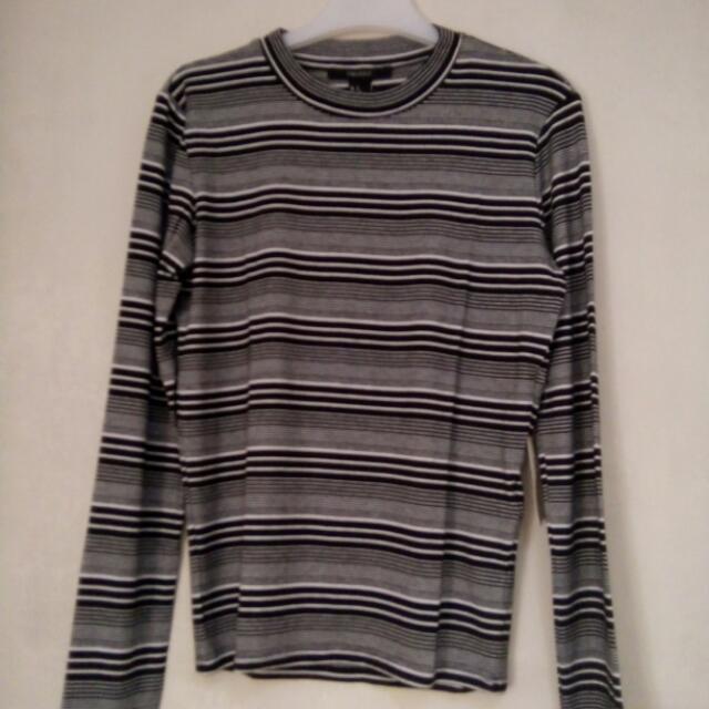 Forever 21 Stripes Long Sleeves