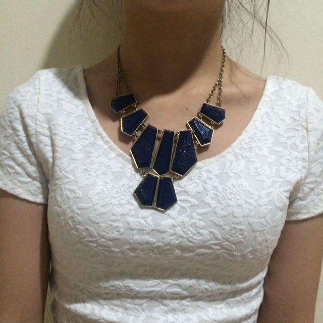 Galaxy Blue Necklace