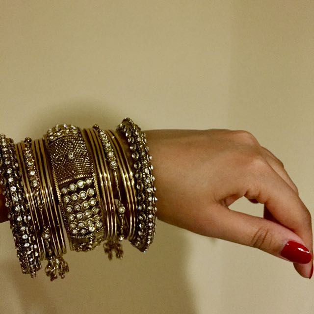 Gelang India - Gold
