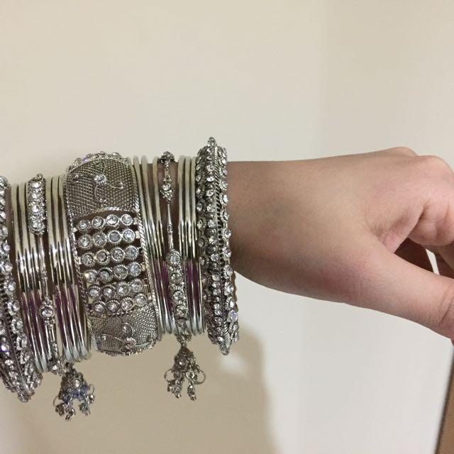 Gelang India - Silver