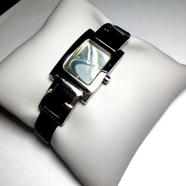 Guess Watch - Black And Silver - Lightly used