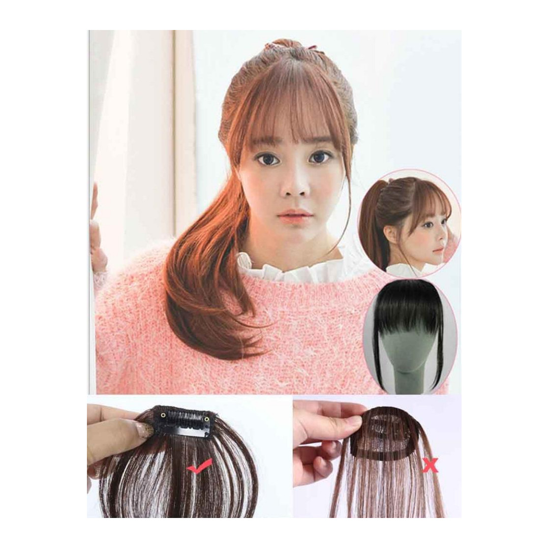 Hair Clip Poni Korean Style Tipis Extension Import