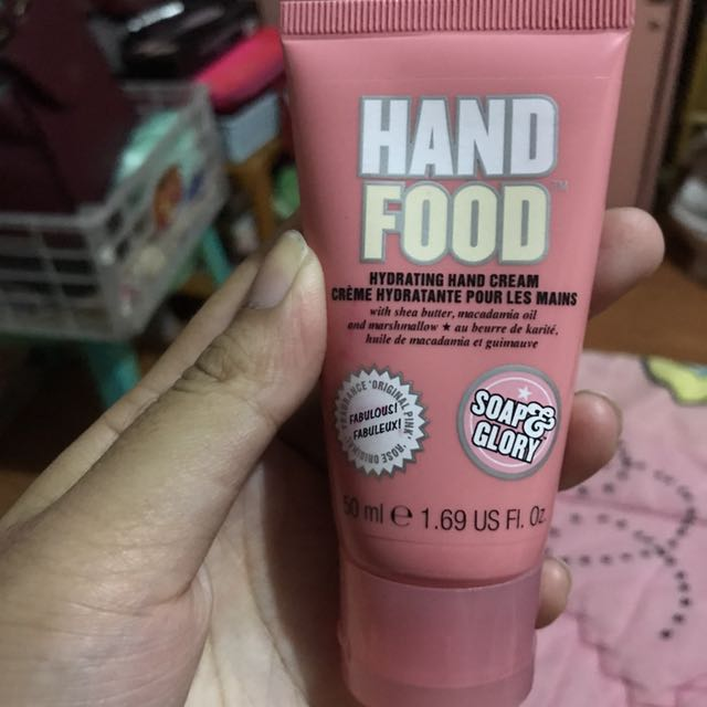 Hand Food Hydrating Hand Cream
