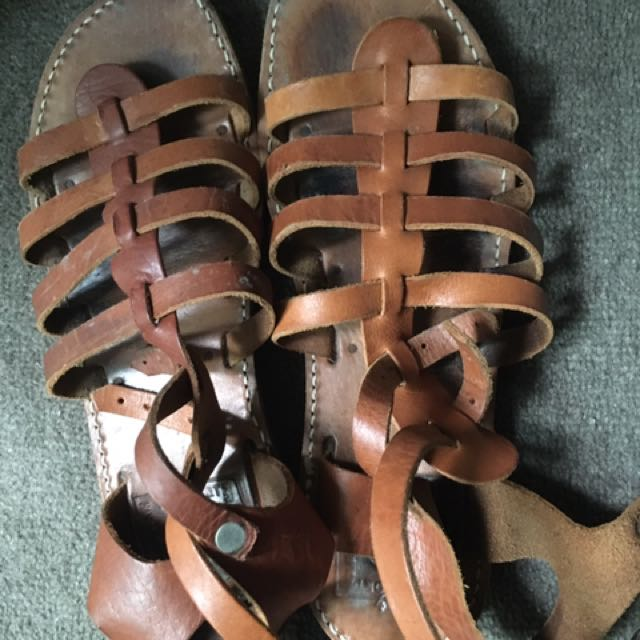 Handmade Greek Gladiator Sandals