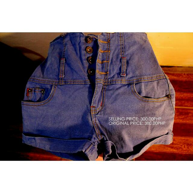 High Waist Short (SALE)