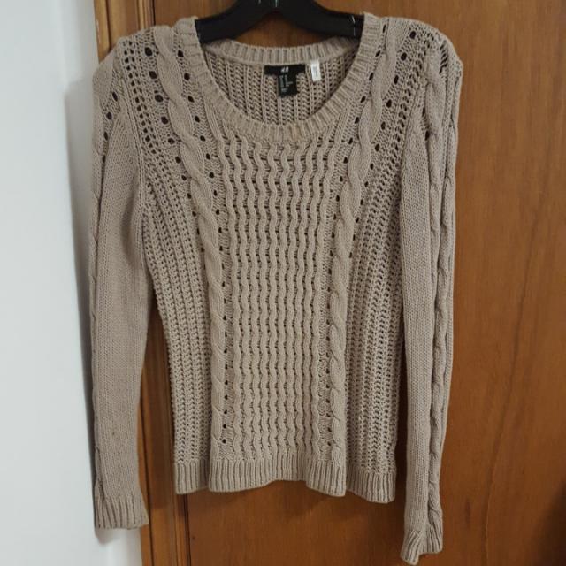 H&M Crochet Sweater