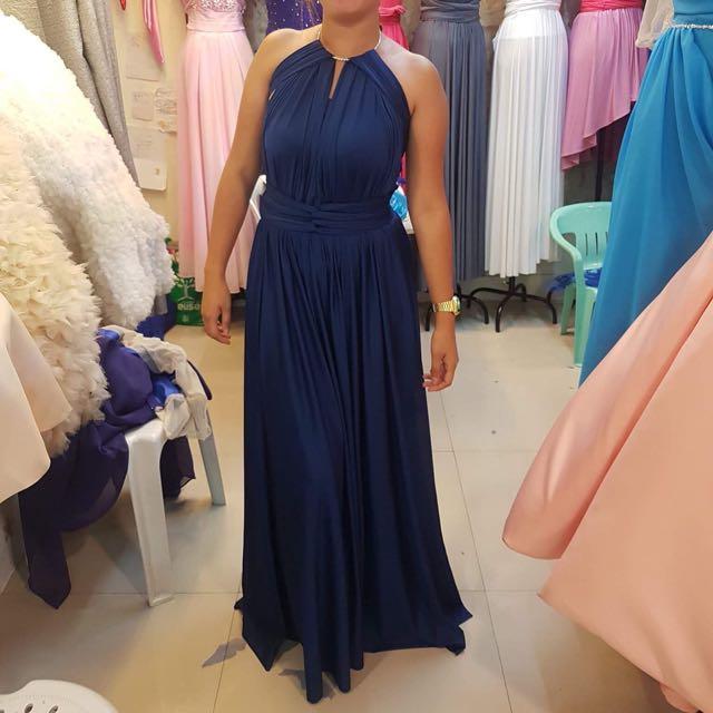 Infinity Dress - Navy Blue