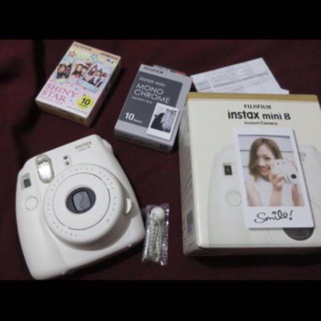 Instax Mini 8 Free Film 2 Pax Like Nee