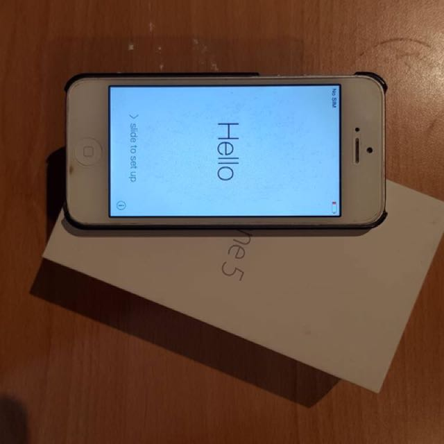 Iphone 5 Second White 16gb