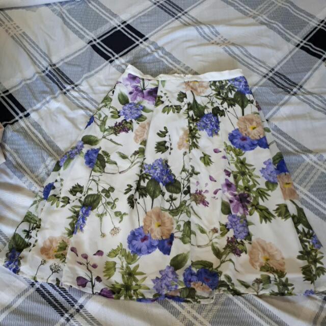 Jellybean Brand A-line Floral Dress