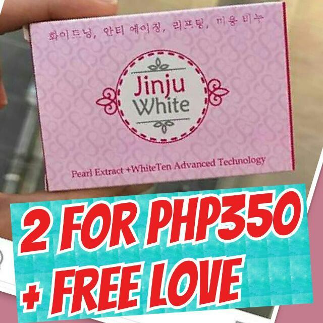 JINJU WHITENING Soap From Korea