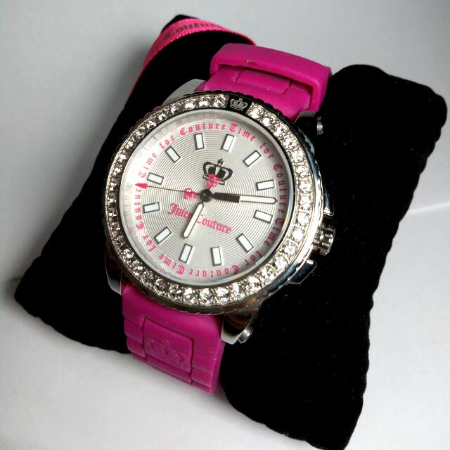 Juicy Couture Timepiece - Watch Brand New Swarovski Crystal Embellishments
