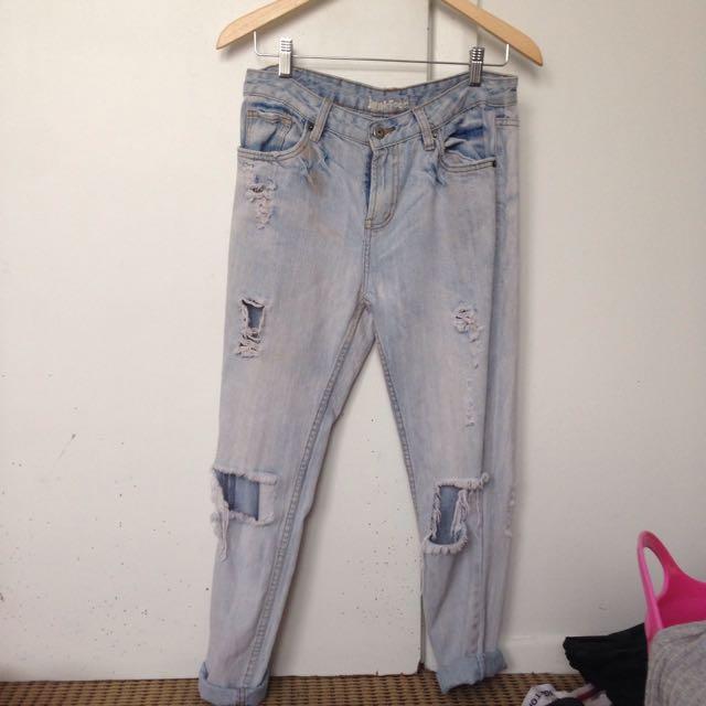 Junkfood Boyfriend Jeans
