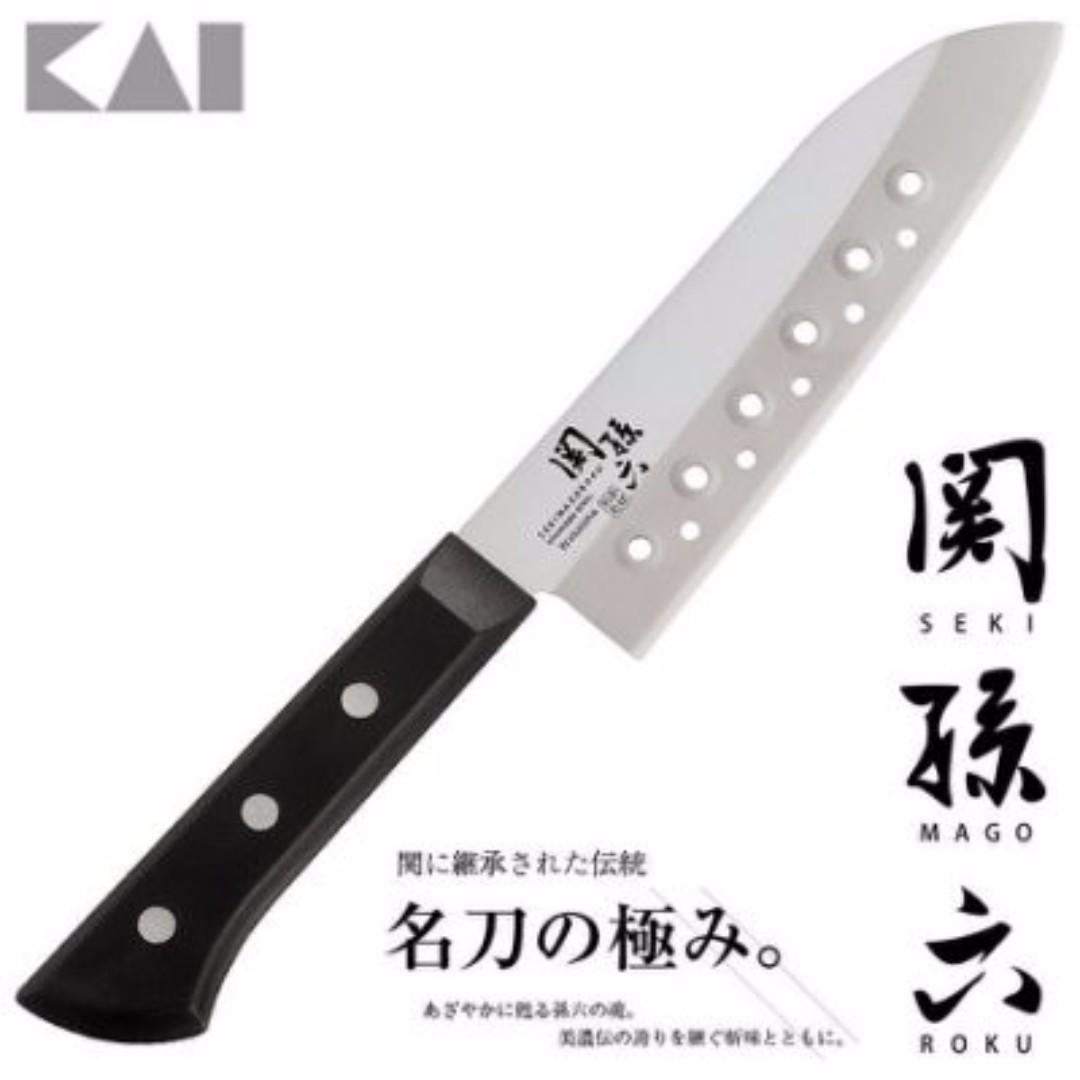 ❤現貨❤芭娜娜代購-KAI 貝印 關孫六165mm日式廚刀 菜刀