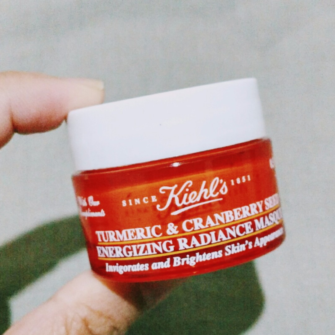 Kiehls Turmeric & Cranberry Radiance Masque