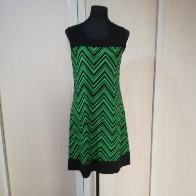 Large Green Dress