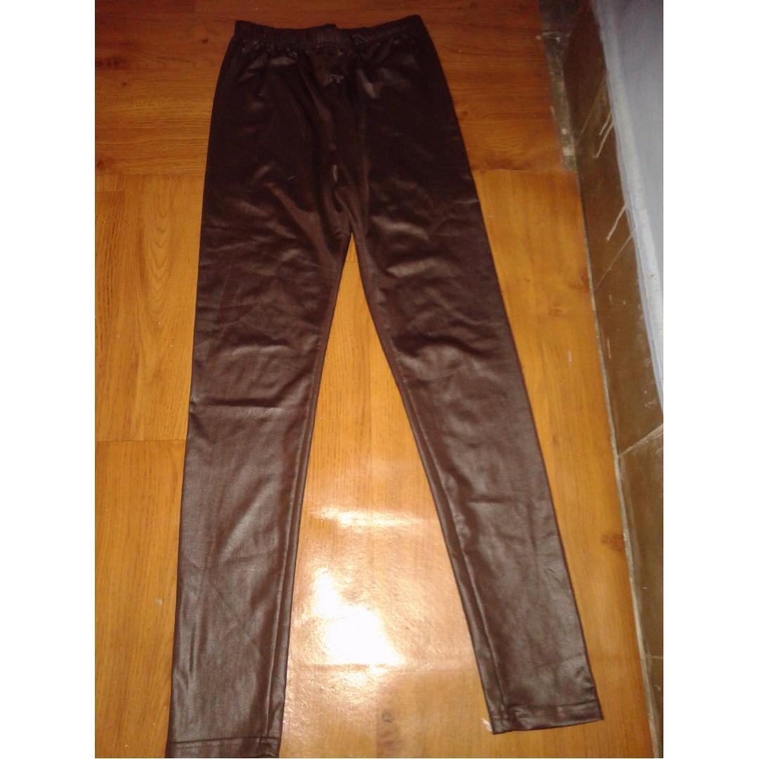 leather / legging kulit/ legging #bersihkanlemari
