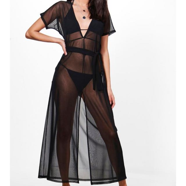 Mesh Swimsuit Coverup