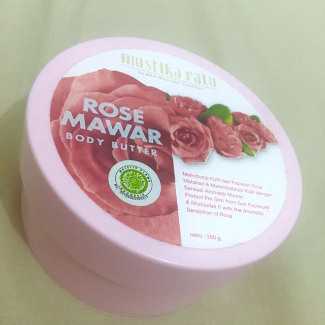 Mustika Ratu - Rose Body Butter