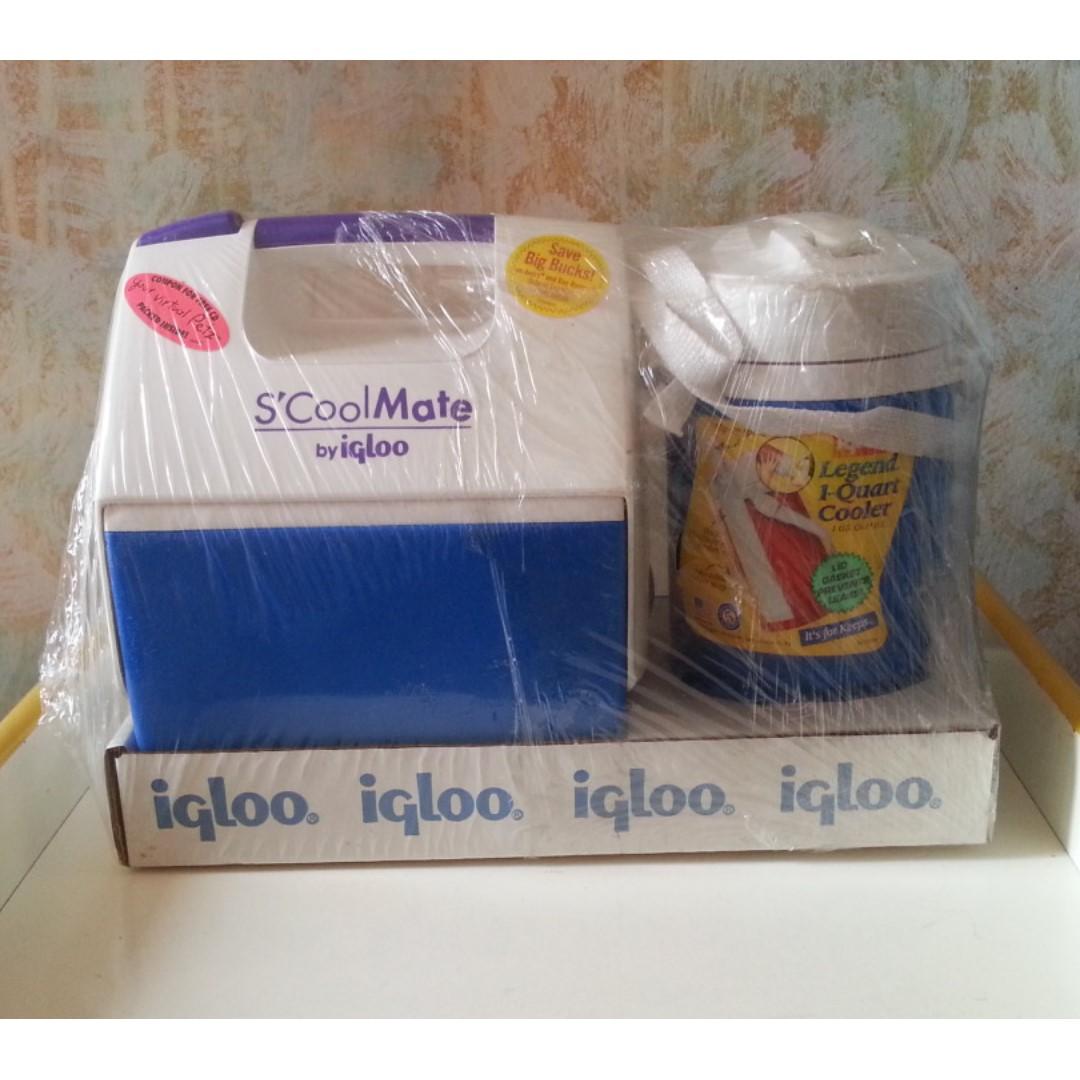 NEW Igloo Food Cooler + Drink Cooler Set