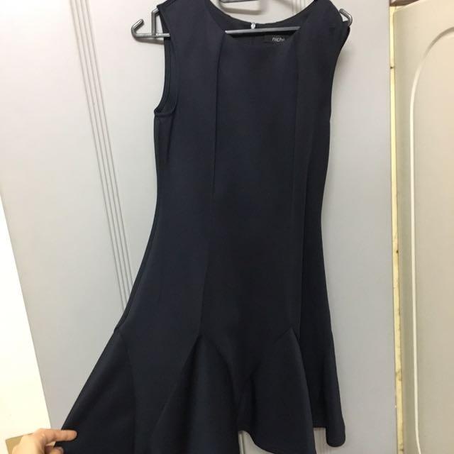 Nichii Preloved Formal Black Dress