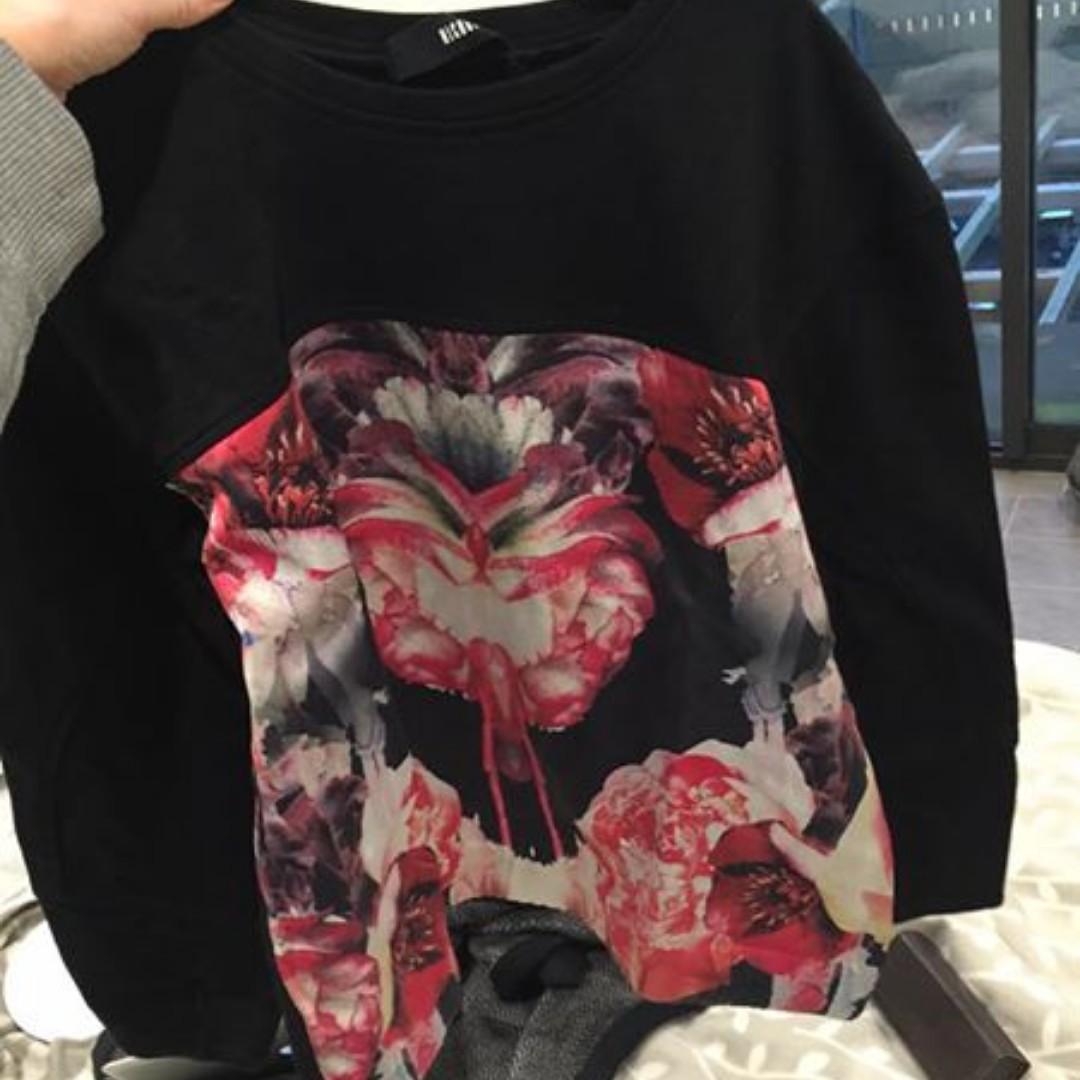 Nicholas the Label Scuba Sweater size 10