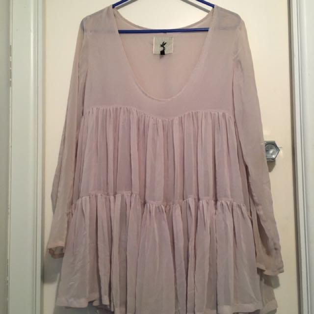 One Teaspoon Beige Dress