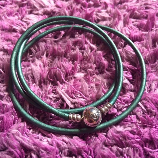 Pandora Bracelet (Green)