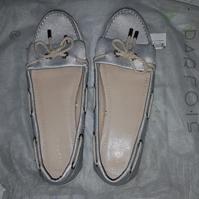 Parfois Silver Shoes (39)