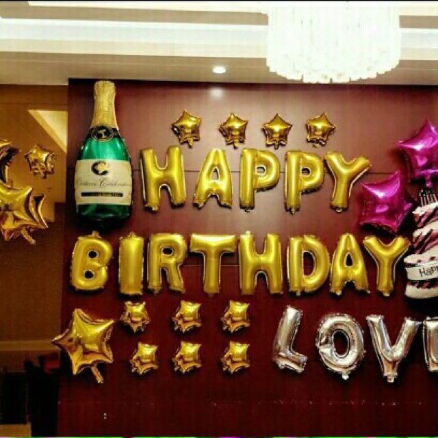 Full set Party balloon !!