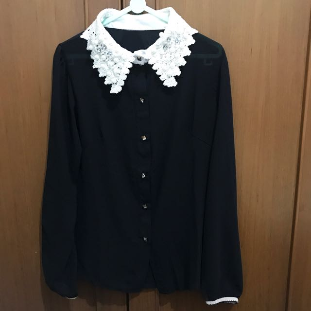 Pearl black shirt