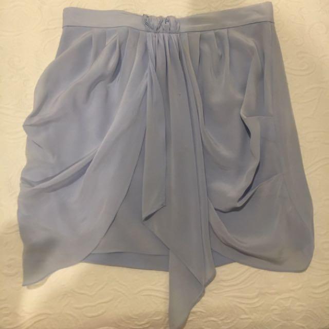 PoppyLissiman Silk Drape Skirt