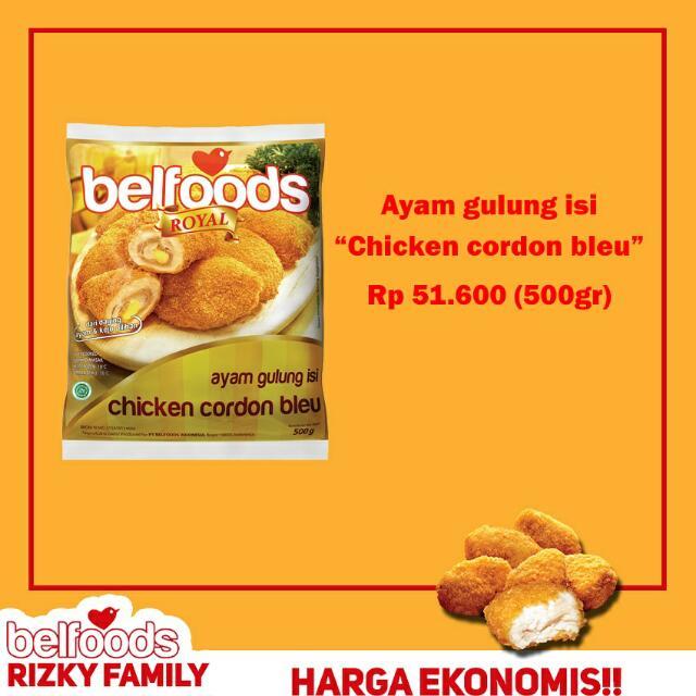"Produk BELFOODS ""Ayam Gulung Isi"""