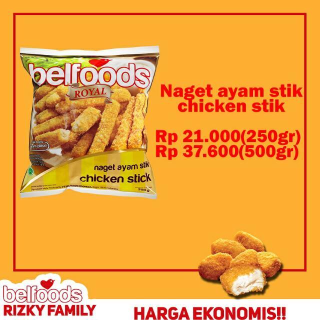 """Produk BELFOODS """"Naget Ayam Stik"""""""
