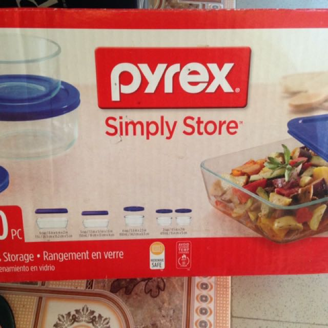 Pyrex Simply Store Glass Storage