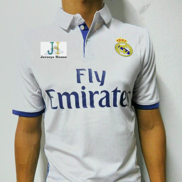 dc05a587f Real Madrid FC Jersey Stock Clearance