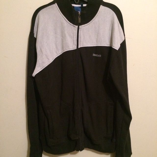 Reebok Zip Sweater Sz S