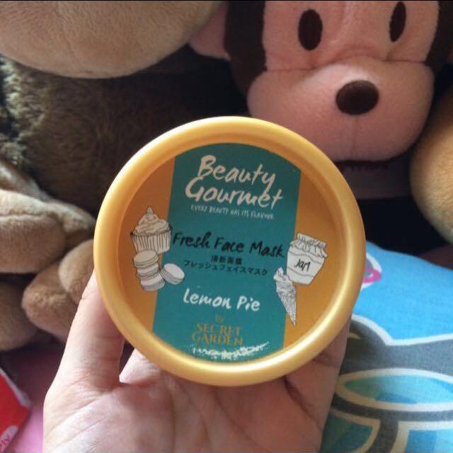 [REPRICE! FREEONG] Beauty Gourmet Fresh Face Mask Lemon Pie