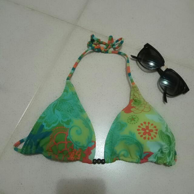 Reversible String Bikini Top