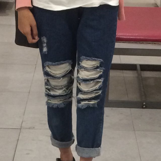 Ripped Jeans Uk 30
