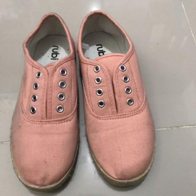 RUBI Tangerine Sneakers