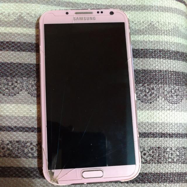 Samsung Note 2 (Pink)