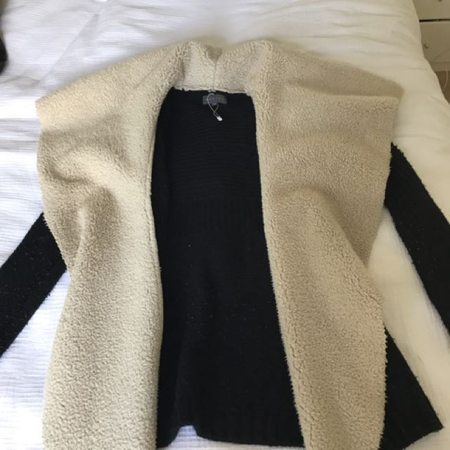 SHEIKE Waterfall Fur Jacket XS
